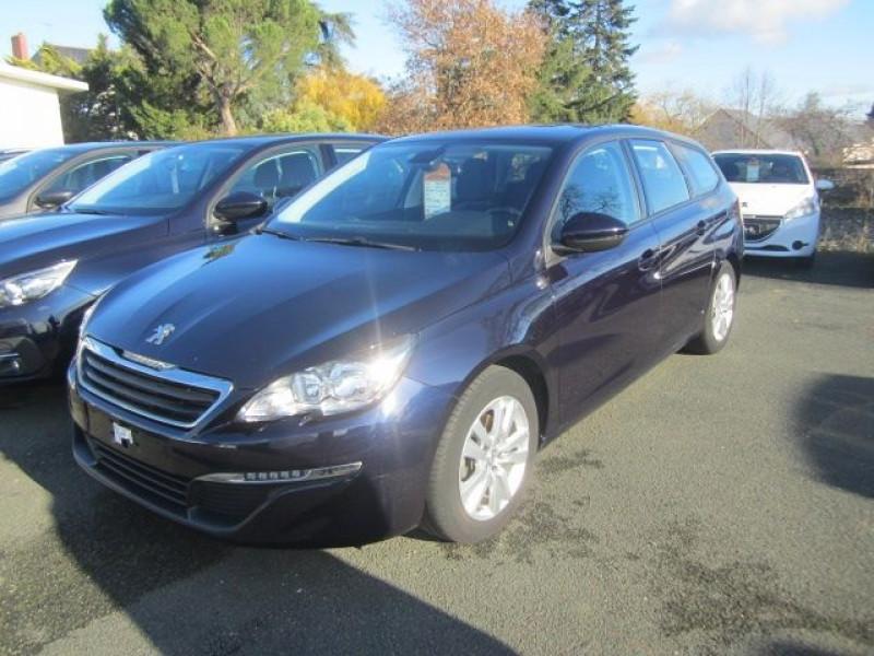 Peugeot 308 SW 1.6 BLUEHDI 120CH ACTIVE BUSINESS S&S Diesel BLEU Occasion à vendre