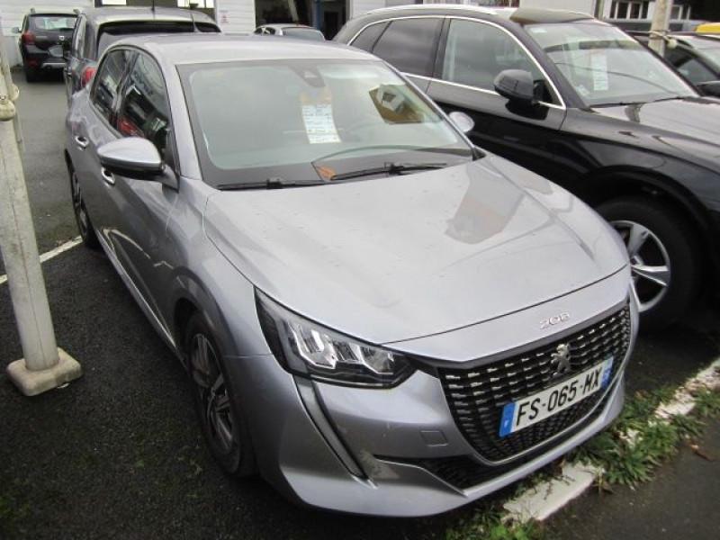 Peugeot 208 1.5 BLUEHDI 100CH E6.C ALLURE 5P Diesel GRIS Occasion à vendre