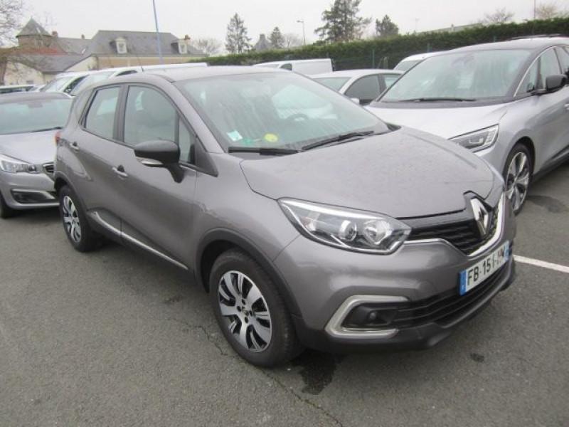 Renault CAPTUR 1.5 DCI 90CH ENERGY BUSINESS EURO6C Diesel GRIS Occasion à vendre