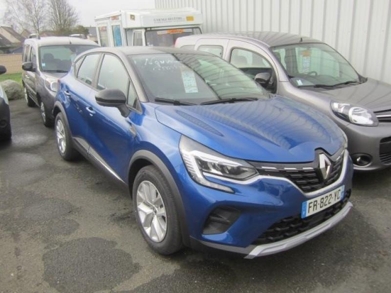 Renault CAPTUR II 1.5 BLUE DCI 115CH ZEN Diesel BLEU Occasion à vendre