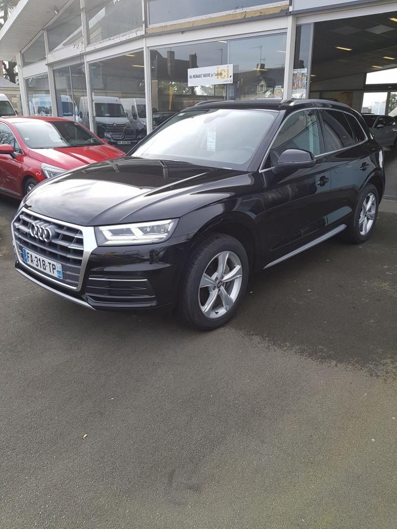 Audi Q5 2.0 TDI 190CH AVUS QUATTRO S TRONIC 7 Diesel NOIR Occasion à vendre
