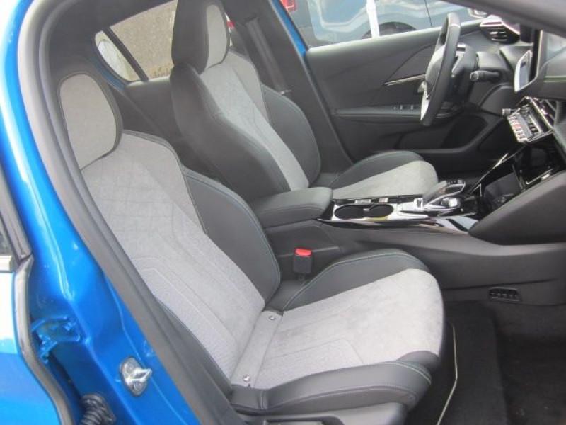 Photo 3 de l'offre de PEUGEOT 208 E-208 136CH GT à 25990€ chez Garage Deletre