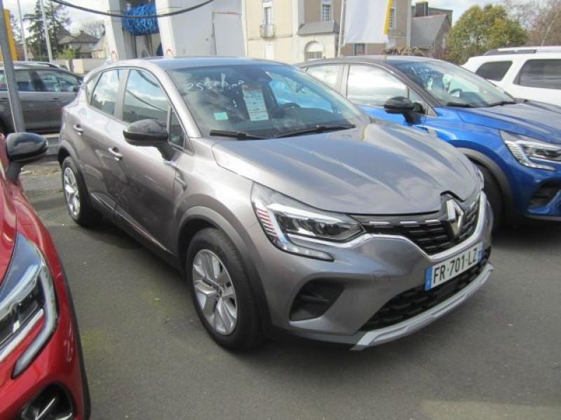 Renault CAPTUR II 1.0 TCE 100CH ZEN - 20 Essence GRIS Occasion à vendre