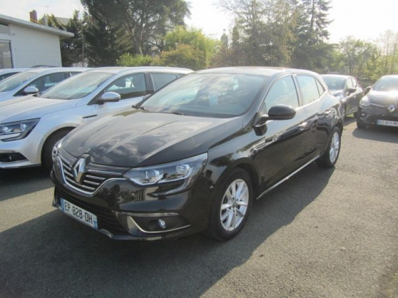 Renault MEGANE IV 1.5 DCI 110CH ENERGY INTENS Diesel NOIR Occasion à vendre