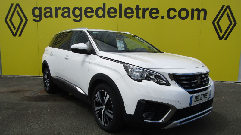 Peugeot 5008 1.5 BLUEHDI 130CH E6.C ALLURE S&S Diesel BLANC Occasion à vendre
