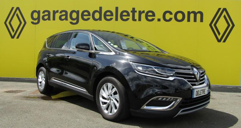 Renault ESPACE V 1.6 DCI 160CH ENERGY INTENS EDC Diesel NOIR Occasion à vendre