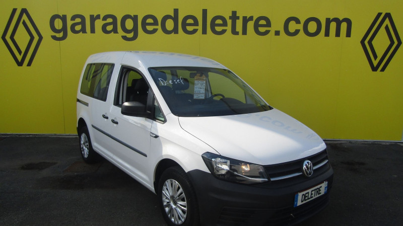 Volkswagen CADDY 2.0 TDI 75CH CONCEPTLINE Diesel BLANC Occasion à vendre
