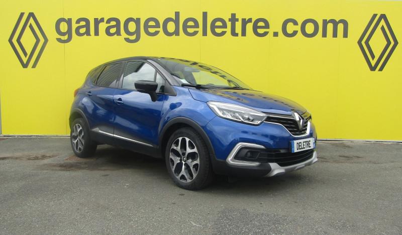 Renault CAPTUR 1.5 DCI 90CH ENERGY INTENS EURO6C Diesel BLEU Occasion à vendre