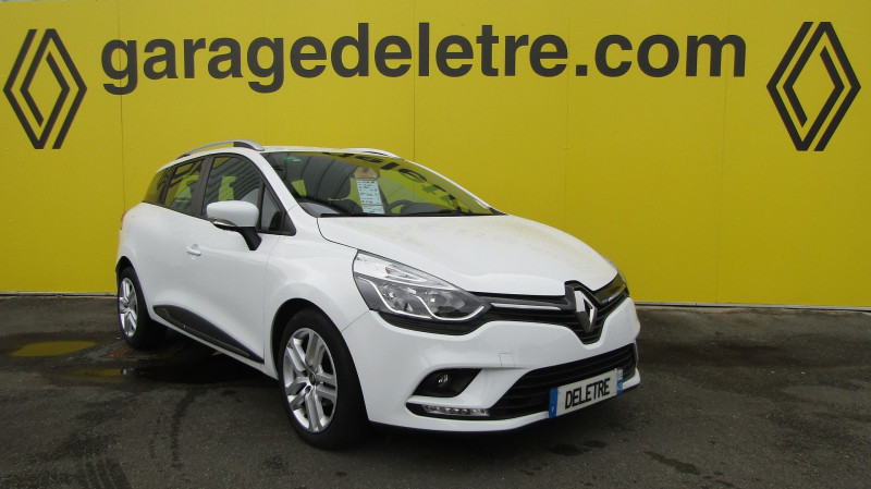 Renault CLIO IV ESTATE 0.9 TCE 90CH ENERGY BUSINESS EURO6C Essence BLANC Occasion à vendre