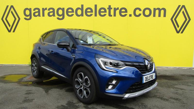 Renault CAPTUR II 1.5 BLUE DCI 115CH INTENS Diesel BLEU Occasion à vendre