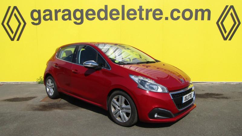 Peugeot 208 1.6 BLUEHDI 100CH ALLURE BUSINESS S&S 5P Diesel ROUGE Occasion à vendre