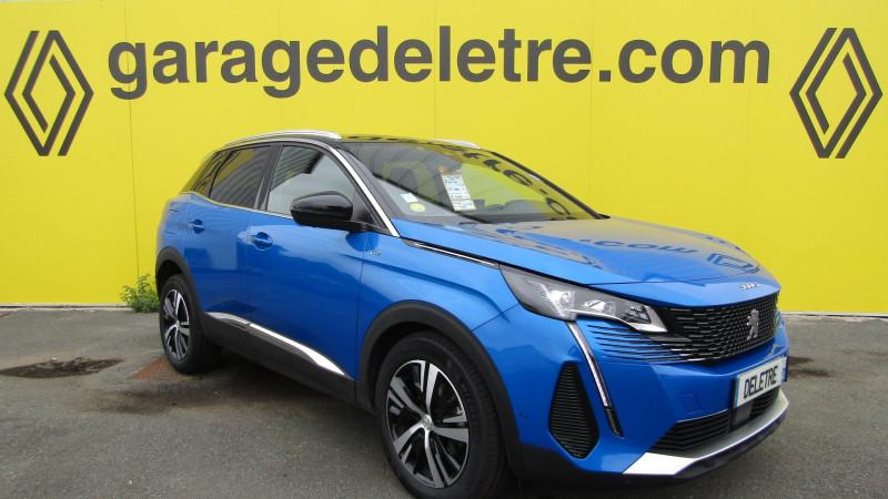 Peugeot 3008 1.5 BLUEHDI 130CH S&S GT Diesel BLEU Occasion à vendre