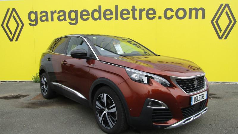 Peugeot 3008 1.6 BLUEHDI 120CH GT LINE S&S EAT6 Diesel MARRON Occasion à vendre