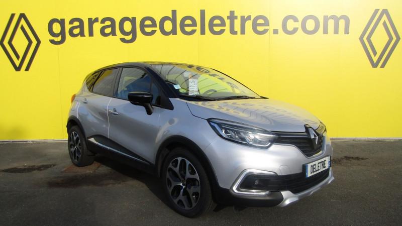 Renault CAPTUR 1.5 DCI 90CH ENERGY INTENS EDC EURO6C Diesel GRIS C Occasion à vendre