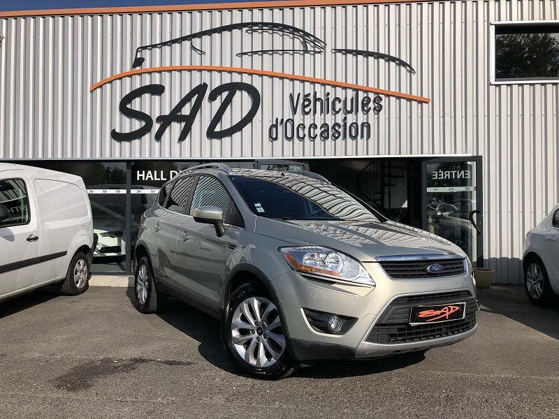 Ford KUGA 2.0 TDCI 136CH DPF TITANIUM 4X2 Diesel GRIS Occasion à vendre