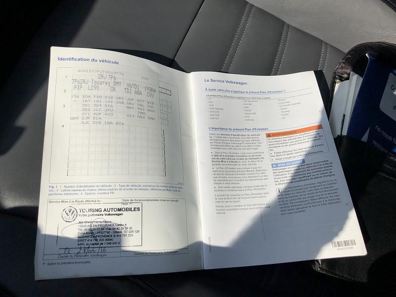 Photo 18 de l'offre de VOLKSWAGEN TOUAREG 3.0 V6 TDI 262CH BLUEMOTION TECHNOLOGY CARAT 4MOTION TIPTRONIC à 29990€ chez SAD