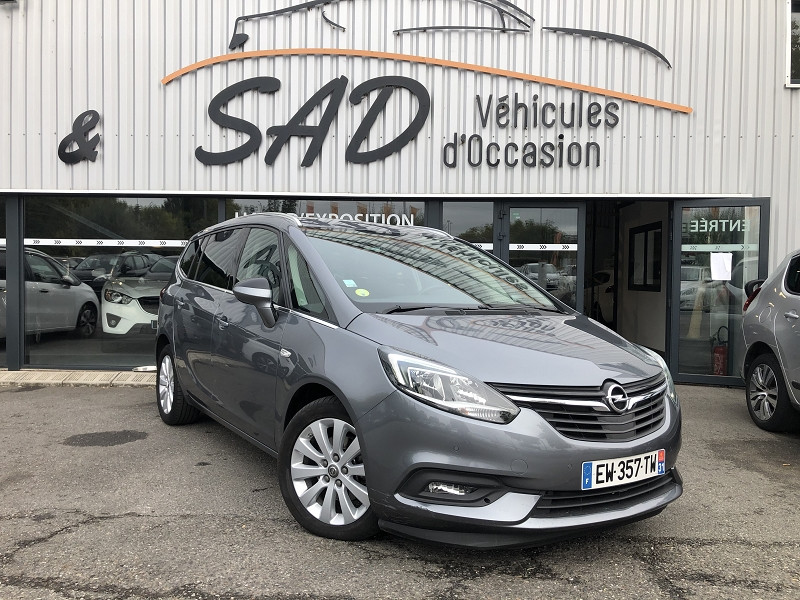 Opel ZAFIRA 1.6 D 134CH BLUEINJECTION ELITE Diesel ANTHRACITE Occasion à vendre