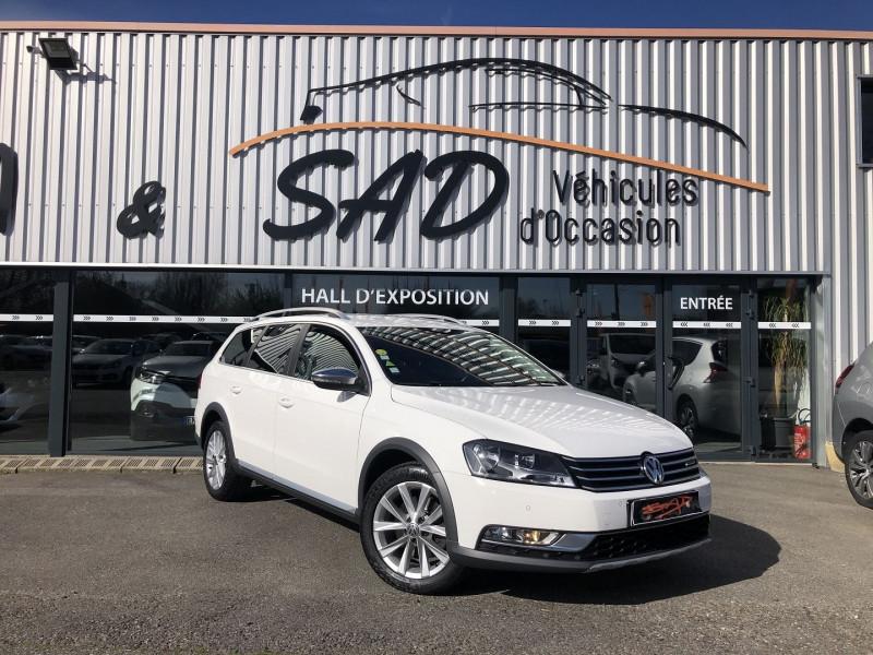 Volkswagen PASSAT ALLTRACK 2.0 TDI 140CH BLUEMOTION TECHNOLOGY 4MOTION Diesel BLANC Occasion à vendre