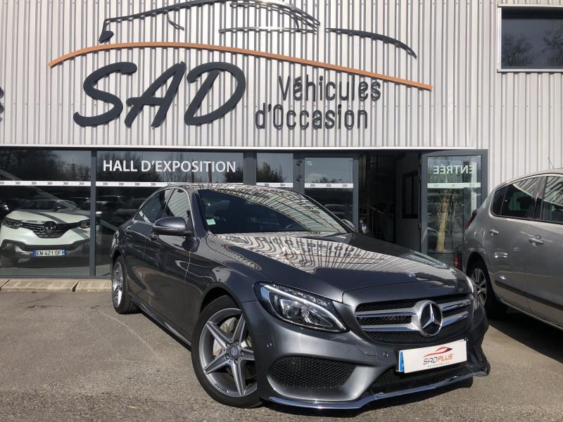 Mercedes-Benz CLASSE C (W205) 250 D SPORTLINE 4MATIC 9G-TRONIC Diesel GRIS F Occasion à vendre