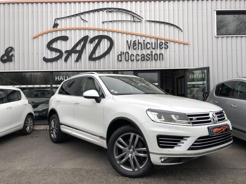 Volkswagen TOUAREG 3.0 V6 TDI 262CH BLUEMOTION TECHNOLOGY CARAT EDITION 4MOTION TIPTRONIC Diesel BLANC Occasion à vendre