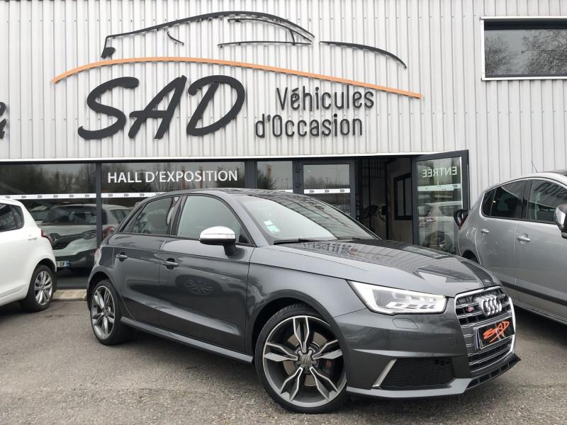 Audi S1 SPORTBACK 2.0 TFSI 231CH QUATTRO Essence GRIS F Occasion à vendre