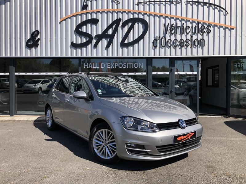 Volkswagen GOLF VII 1.4 TSI 150CH ACT BLUEMOTION TECHNOLOGY CUP DSG7 5P Essence GRIS Occasion à vendre