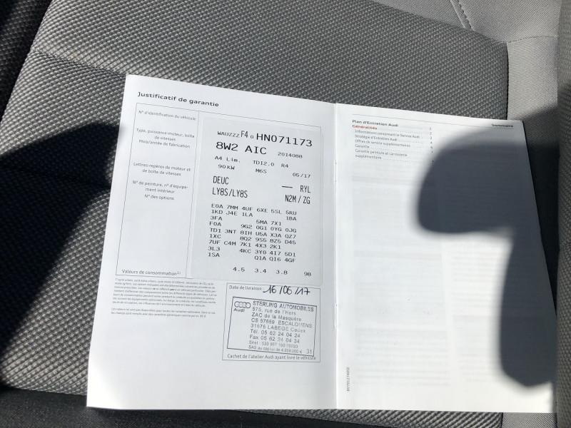 Photo 20 de l'offre de AUDI A4 2.0 TDI 122CH BUSINESS LINE à 18490€ chez SAD