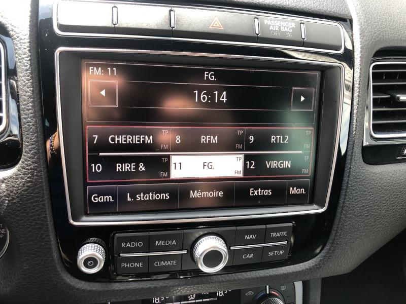 Photo 14 de l'offre de VOLKSWAGEN TOUAREG 3.0 V6 TDI 262CH BLUEMOTION TECHNOLOGY CARAT 4MOTION TIPTRONIC à 30990€ chez SAD
