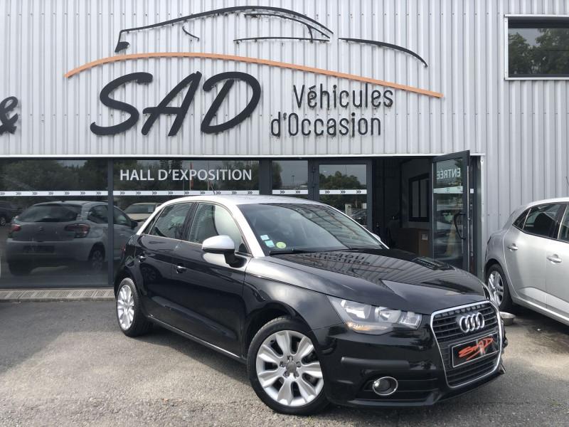 Audi A1 SPORTBACK 1.6 TDI 105CH FAP AMBITION 5 PLACES Diesel NOIR Occasion à vendre