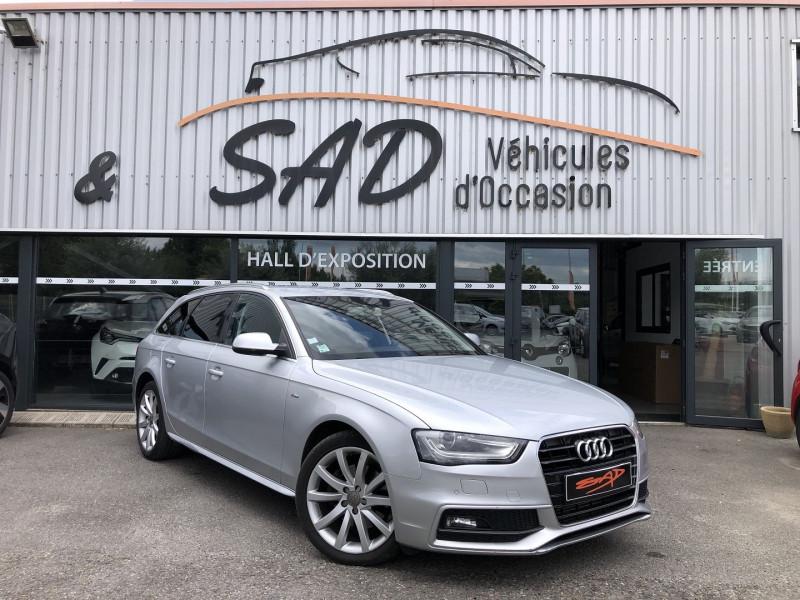 Audi A4 AVANT 2.0 TDI 150CH CLEAN DIESEL DPF S LINE MULTITRONIC EURO6 Diesel GRIS C Occasion à vendre