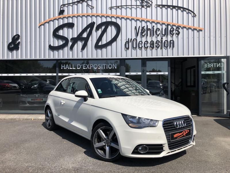 Audi A1 1.4 TFSI 122CH AMBITION S TRONIC 7 Essence BLANC Occasion à vendre