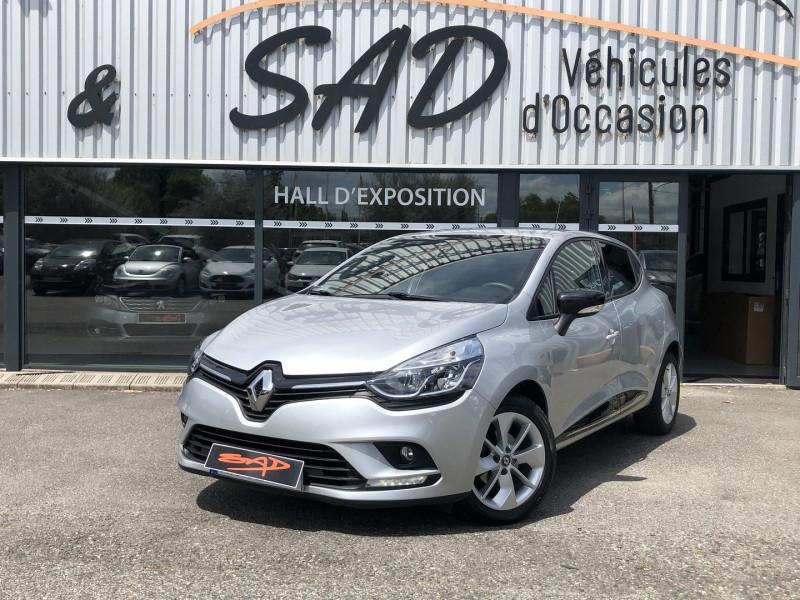 Renault CLIO IV 0.9 TCE 90CH ENERGY LIMITED 5P EURO6C Essence GRIS Occasion à vendre