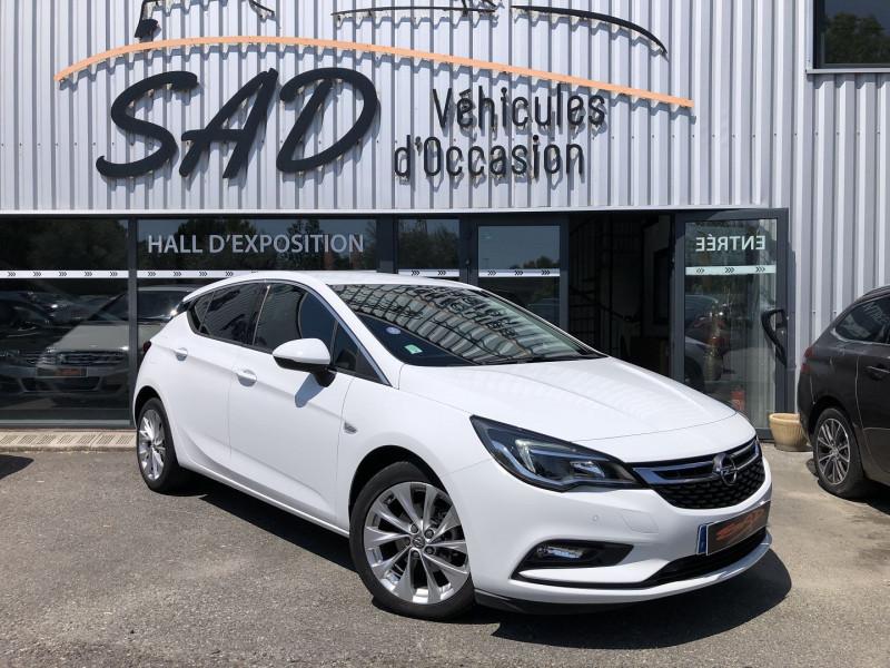 Opel ASTRA 1.4 TURBO 125CH START&STOP INNOVATION Essence BLANC Occasion à vendre