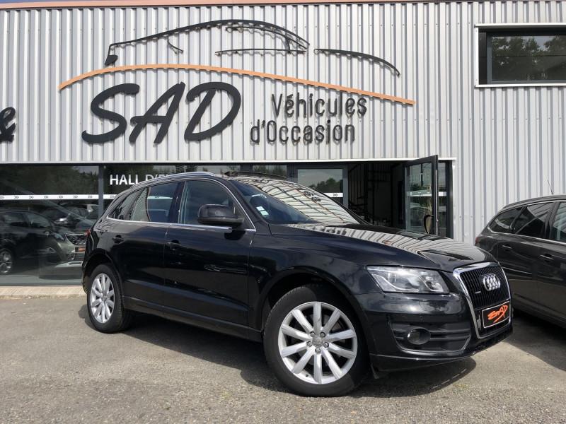 Audi Q5 3.0 V6 TDI 240CH FAP AMBITION LUXE QUATTRO S TRONIC 7 Diesel NOIR Occasion à vendre
