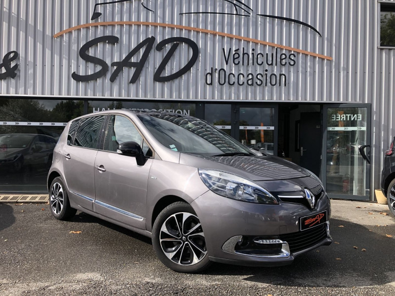 Renault SCENIC III 1.6 DCI 130CH ENERGY BOSE EURO6 2015 Diesel GRIS F Occasion à vendre
