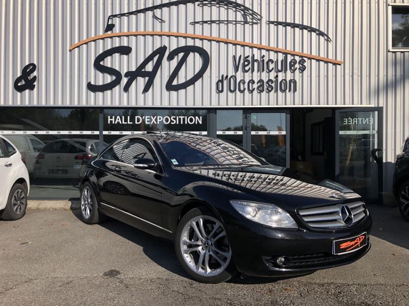 Mercedes-Benz COUPE CL (C216) 500 7GTRO Essence NOIR Occasion à vendre