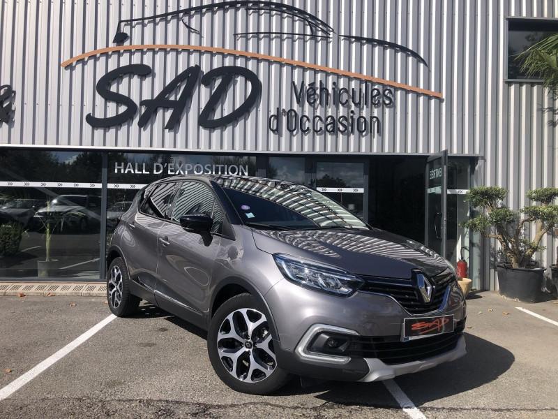 Renault CAPTUR 1.3 TCE 150CH FAP INTENS EDC Essence ANTHRACITE Occasion à vendre