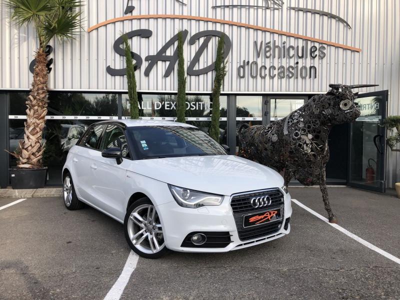 Audi A1 SPORTBACK 1.6 TDI 105CH FAP S LINE Diesel BLANC Occasion à vendre