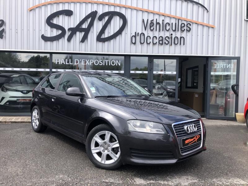 Audi A3 1.6 TDI 105CH DPF START/STOP AMBIENTE 3P Diesel ANTHRACITE Occasion à vendre
