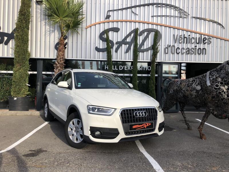 Audi Q3 2.0 TDI 140CH ATTRACTION Diesel BLANC Occasion à vendre