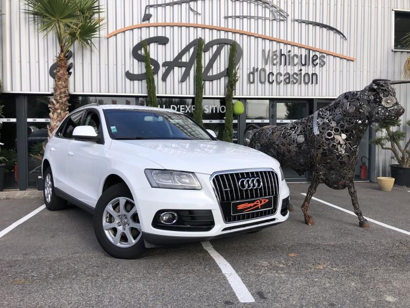 Audi Q5 2.0 TDI 177CH FAP AMBIENTE QUATTRO S TRONIC 7 Diesel BLANC Occasion à vendre