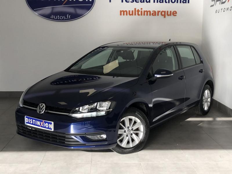 Volkswagen GOLF VII 1.6 TDI 115CH BLUEMOTION TECHNOLOGY FAP CONFORTLINE 5P Diesel BLEU Occasion à vendre