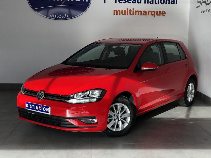 Volkswagen GOLF VII 1.6 TDI 115CH BLUEMOTION TECHNOLOGY FAP CONFORTLINE DSG7 5P Diesel ROUGE TORNADE Occasion à vendre