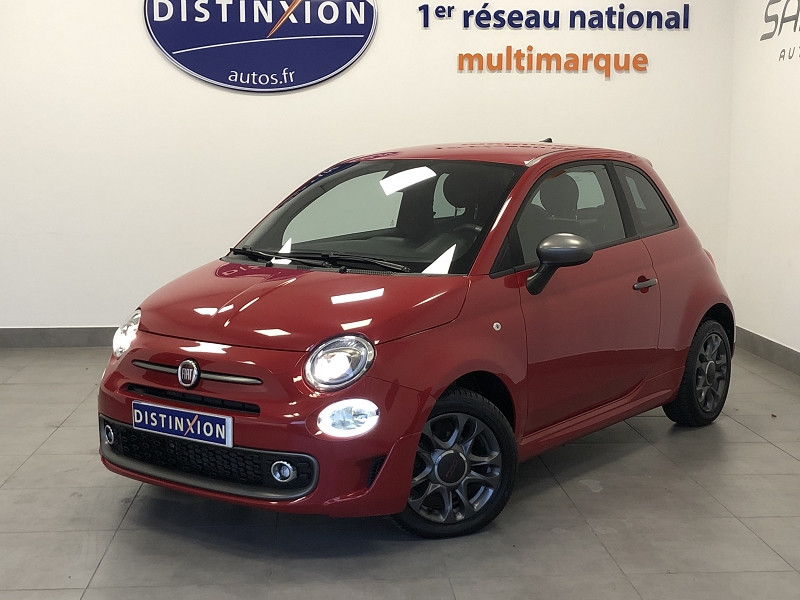 Fiat 500 1.2 8V 69CH S DUALOGIC Essence ROUGE Occasion à vendre