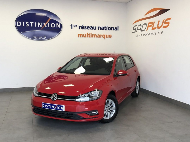 Volkswagen GOLF VII 1.6 TDI 115CH BLUEMOTION TECHNOLOGY FAP CONFORTLINE 5P Diesel ROUGE Occasion à vendre
