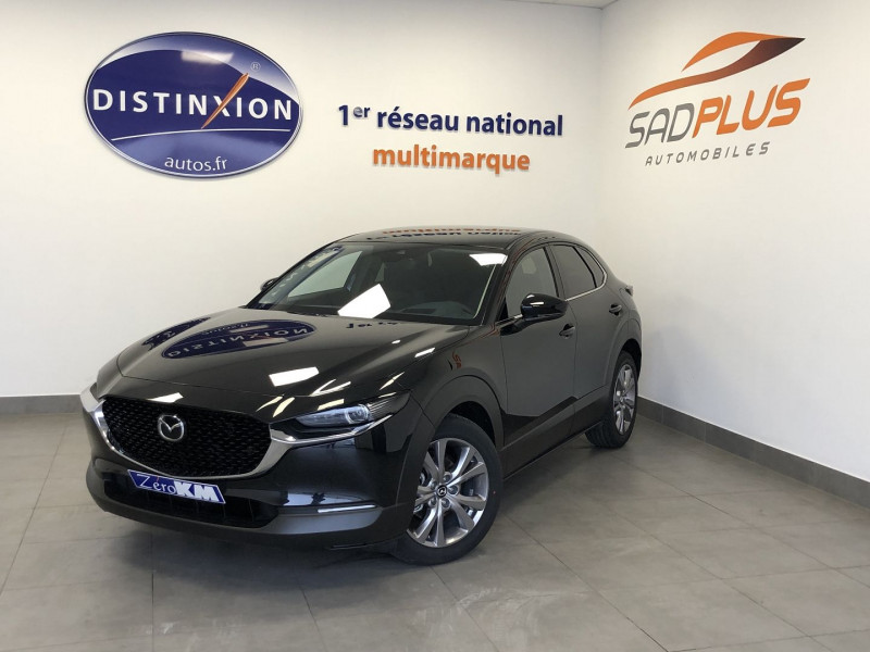 Mazda CX-30 2.0 SKYACTIV-X M-HYBRID 180CH BUSINESS EXECUTIVE Essence NOIR Occasion à vendre