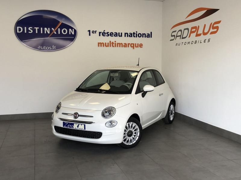 Fiat 500 1.0 70CH BSG S&S LOUNGE Essence BLANC Occasion à vendre