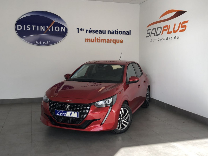 Peugeot 208 1.2 PURETECH 130CH S&S ALLURE EAT8 7CV Essence ROUGE Occasion à vendre