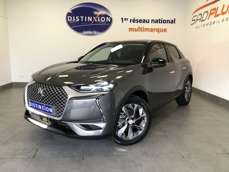 Photo 1 de l'offre de DS DS 3 CROSSBACK E-TENSE SO CHIC à 29990€ chez SAD Plus