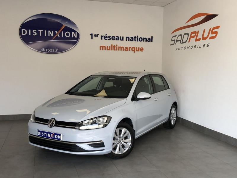 Volkswagen GOLF VII 1.4 TSI 125CH MULTIFUEL E85 CONFORTLINE 5P Essence BLANC Occasion à vendre